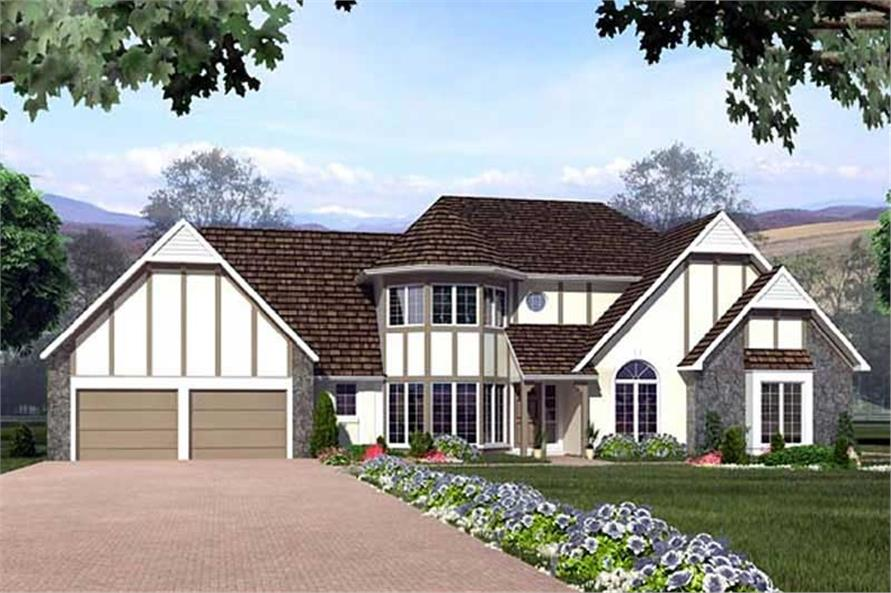 Home Plan Rendering of this 1-Bedroom,2176 Sq Ft Plan -2176
