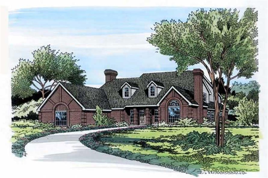 Main image for house plan # 19814