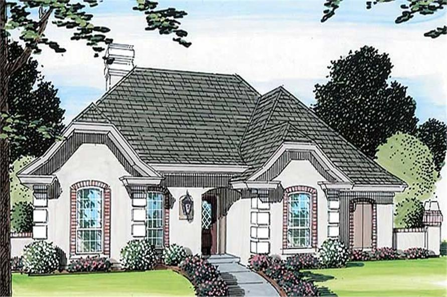 Main image for house plan # 19916