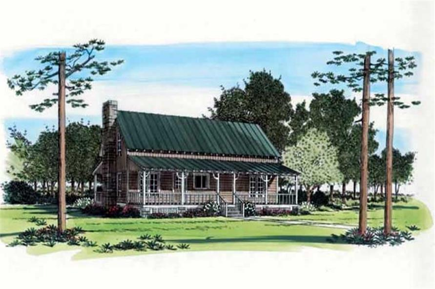Main image for house plan # 19915