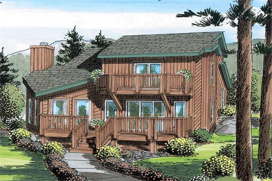 Main image for house plan # 19914