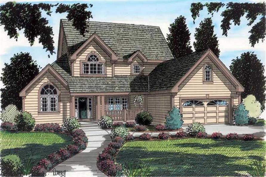 Main image for house plan # 19906