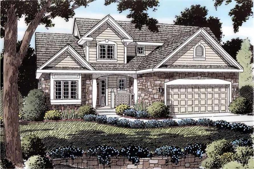 Main image for house plan # 19901