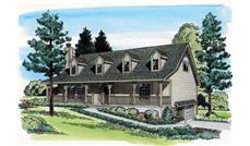 Main image for house plan # 19899