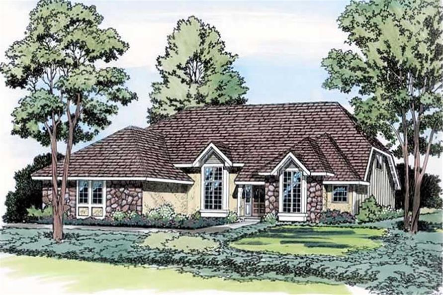 Main image for house plan # 19851