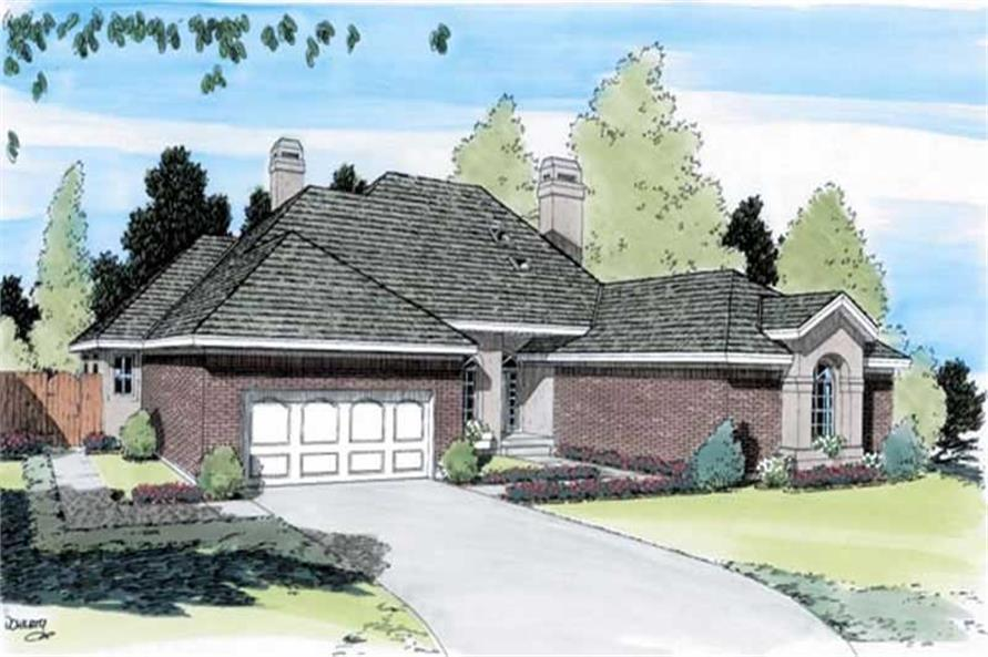 Main image for house plan # 19913