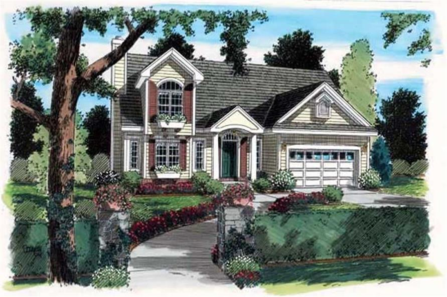 Main image for house plan # 20082
