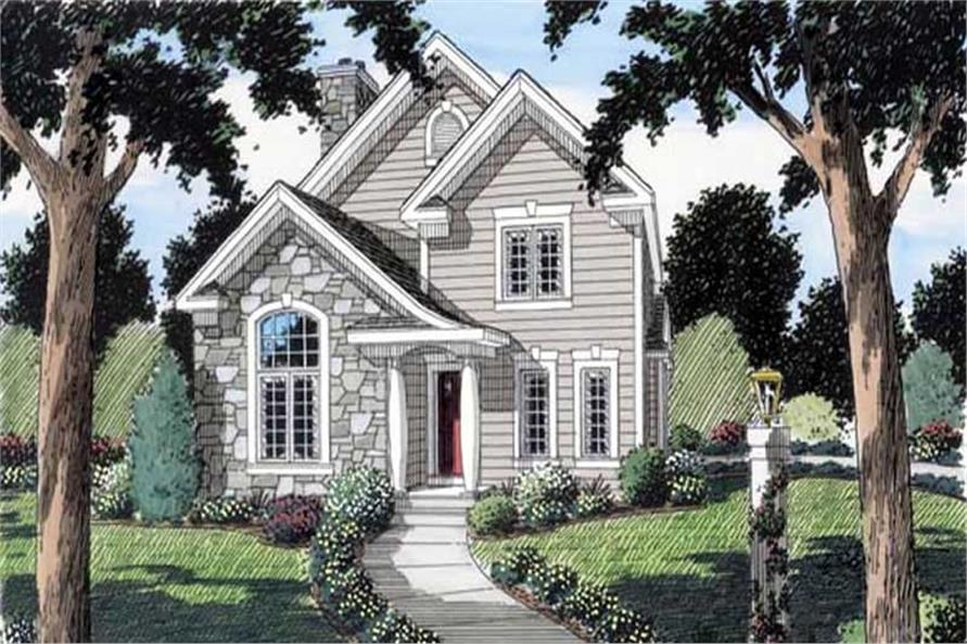 Main image for house plan # 20084