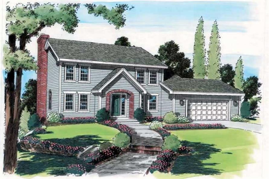 Main image for house plan # 19991