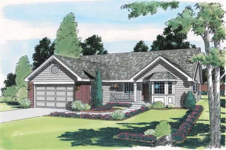 Main image for house plan # 19947