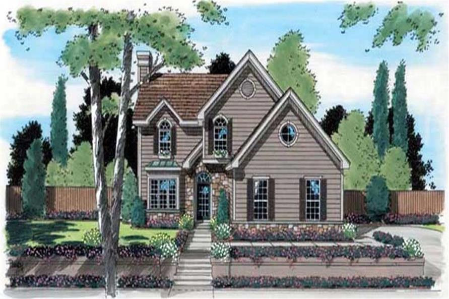 Main image for house plan # 20051