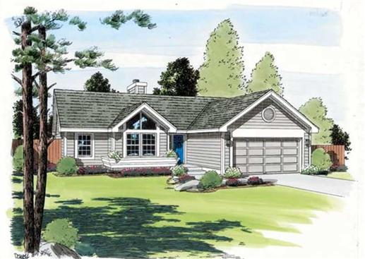 Main image for house plan # 19941