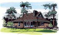 Main image for house plan # 19943