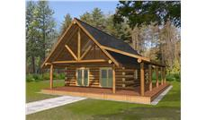 Main image for house plan # 17230