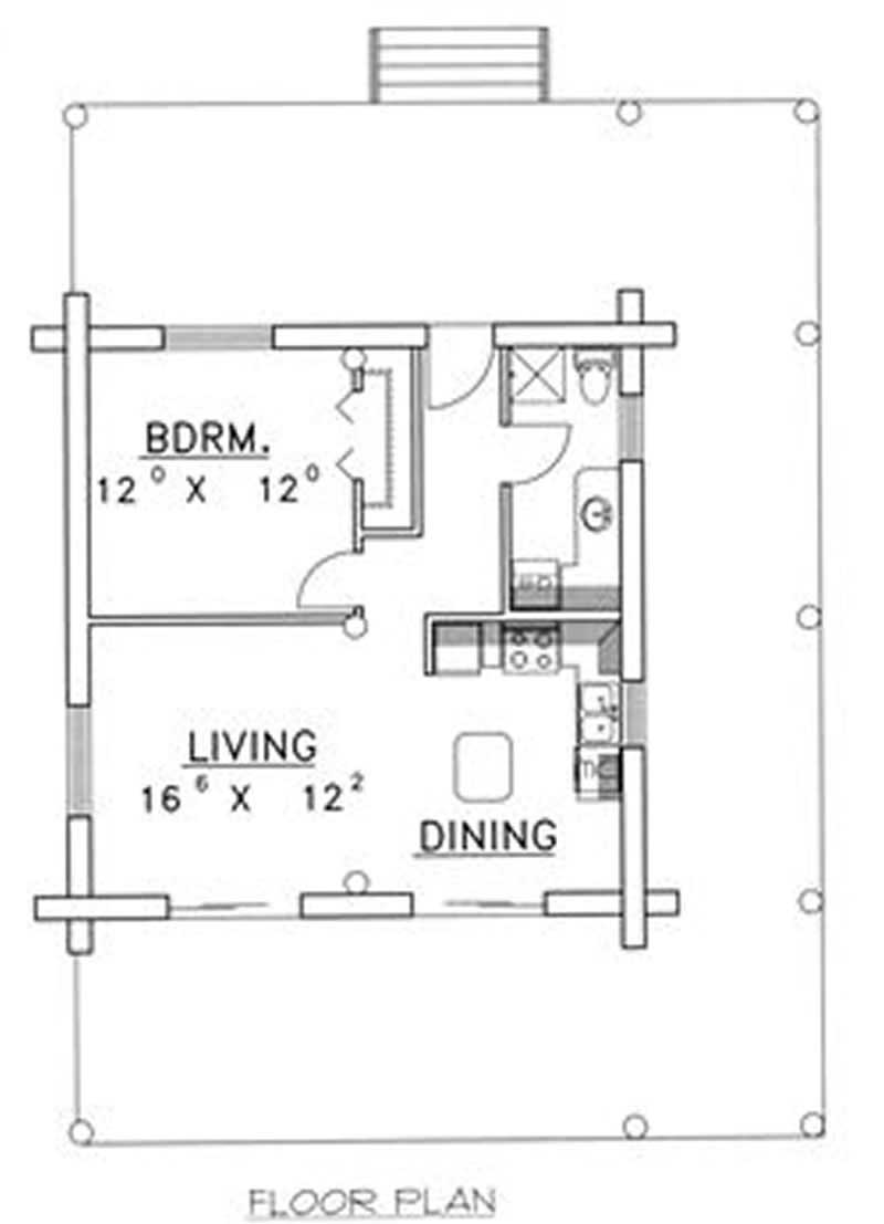 This image shows the living area of the home.