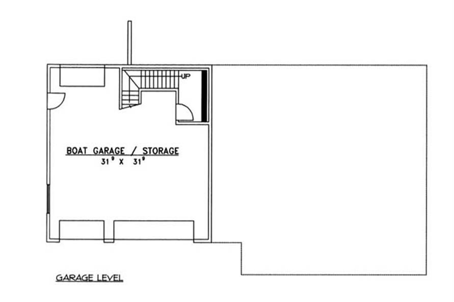 Home Plan Rendering of this 4-Bedroom,3971 Sq Ft Plan -132-1187