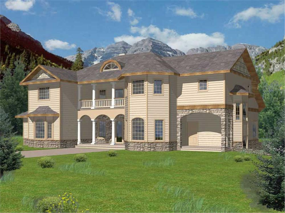 Main image for house plan # 15586