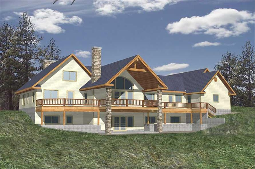 Main image for house plan # 9767