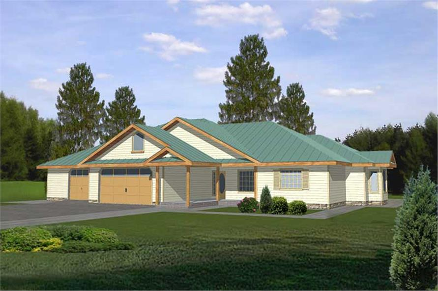 Main image for house plan # 9769