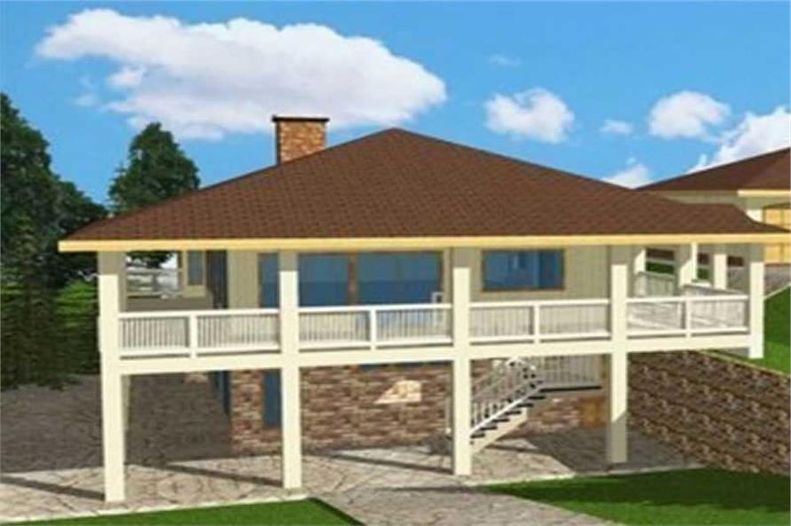 Main image for house plan # 15610