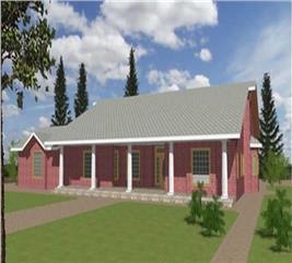 House Plan #132-1212