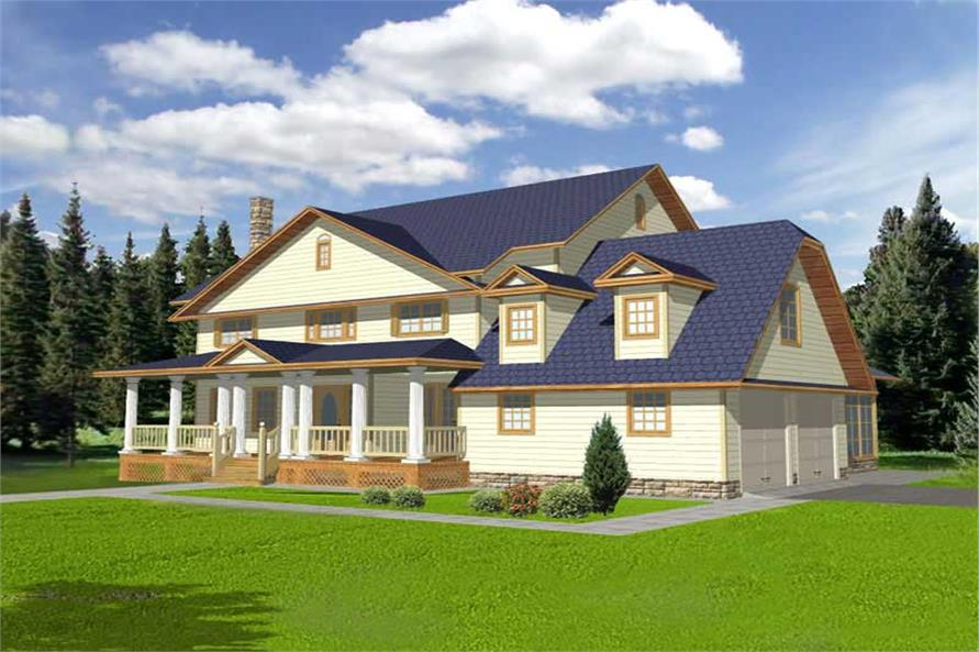 Main image for house plan # 9745