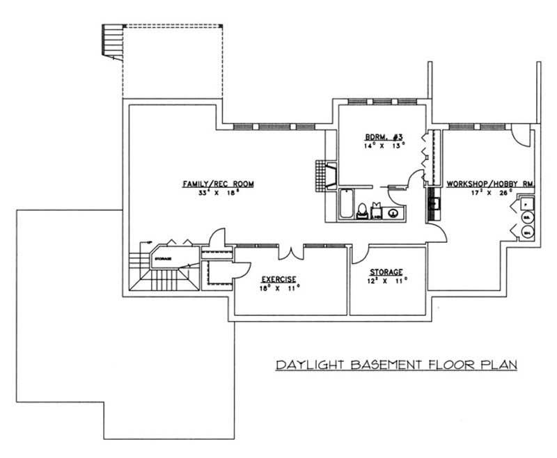 Concrete Block/ ICF Design House Plans