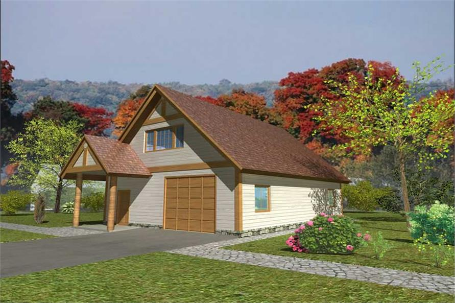 Main image for house plan # 17231
