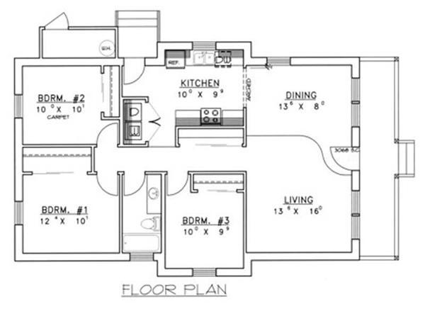 Concrete block floor plans gurus floor for Concrete block floor plans