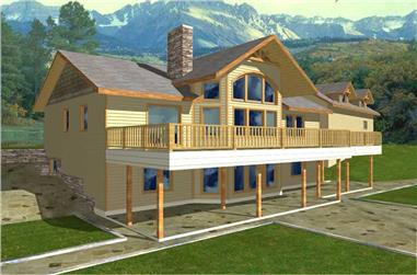 Main image for house plan # 9435