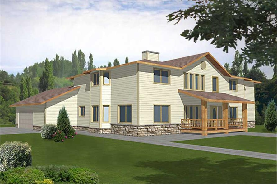 Main image for house plan # 9438