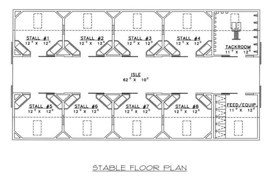 STABLE FLOOR PLAN