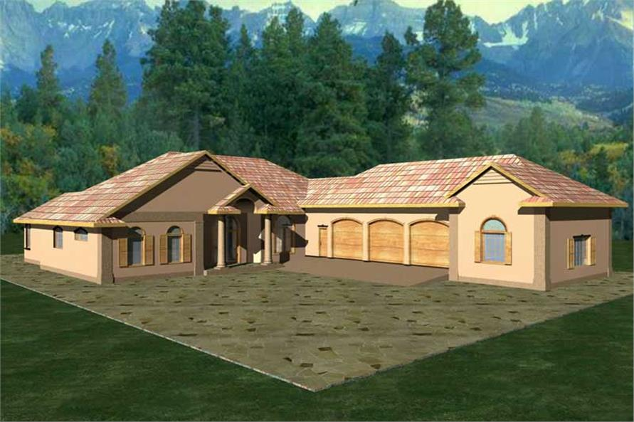 Main image for house plan # 9419