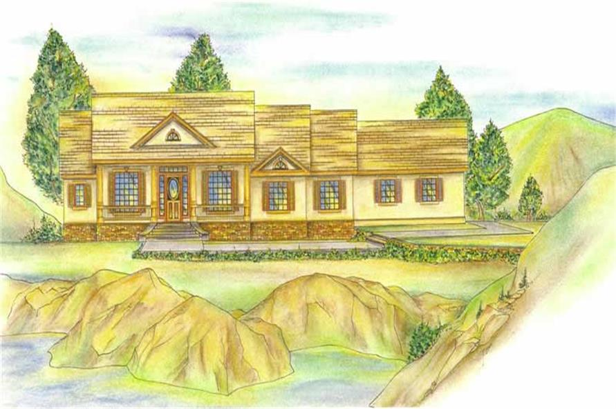 Main image for house plan # 9418