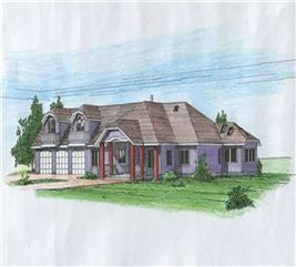 House Plan #132-1255