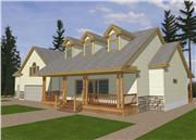View house Plan#132-1257