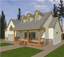 House Plan #132-1257