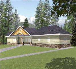 House Plan #132-1260