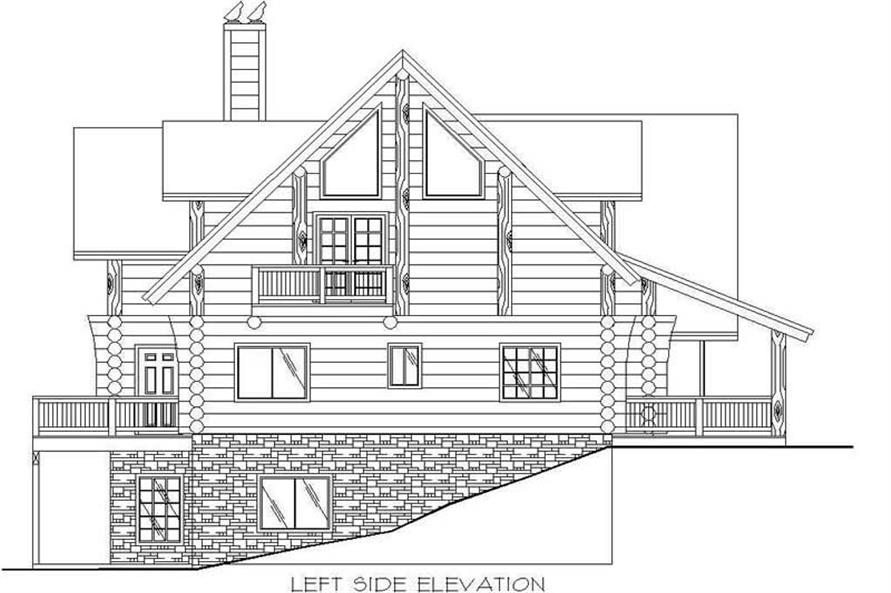 Other Elev of this 6-Bedroom,2396 Sq Ft Plan -2396