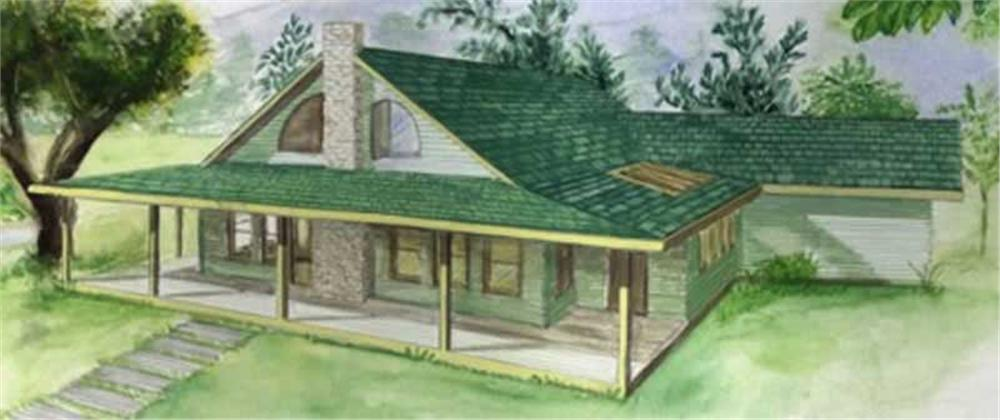 Main image for house plan # 9405