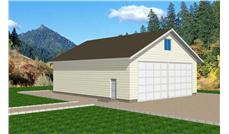 Main image for house plan # 9460