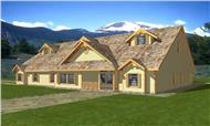 Main image for house plan # 9461