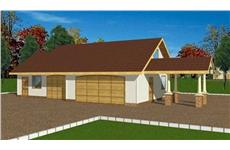 Main image for house plan # 9464