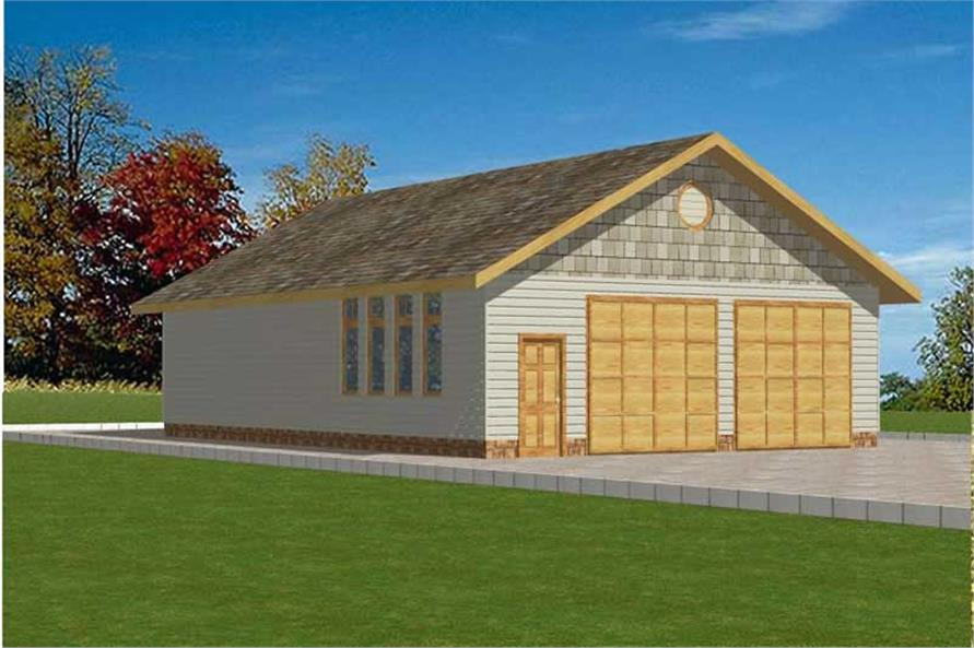 Main image for house plan # 9994