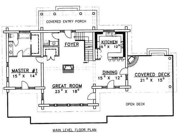 MIAN LEVEL FLOOR PLAN