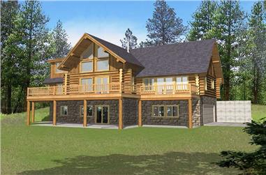Log cabin house plans and between 2500 and 3000 square feet for 2500 sq ft log home plans