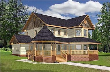3-Bedroom, 2312 Sq Ft Victorian Home - Plan #132-1307 - Main Exterior