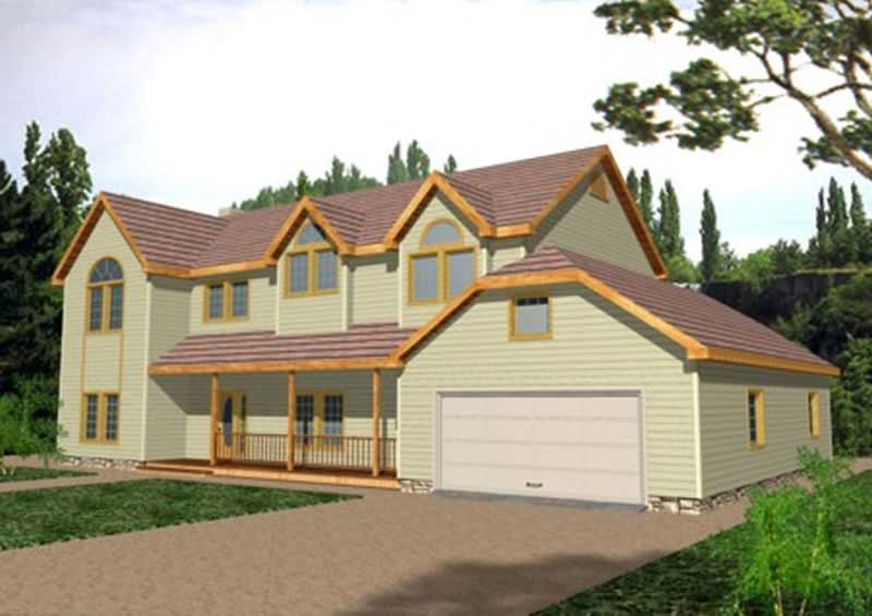 Concrete Block Icf Design House Plan 6 Bedrms 4 Baths
