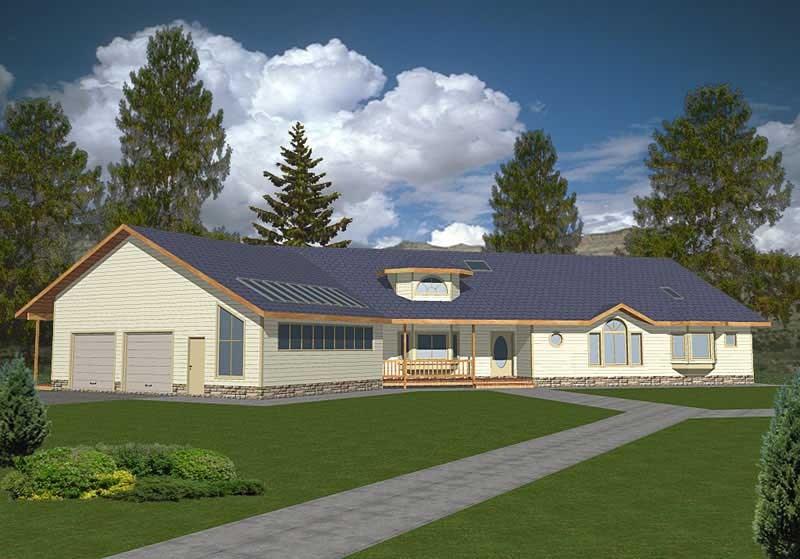 Ranch concrete block icf design house plans home for Icf home designs