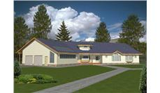 Main image for house plan # 9396